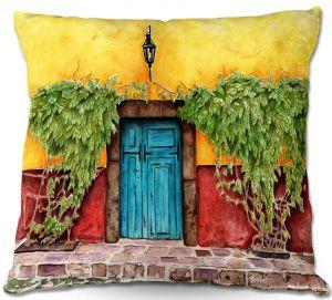 Decorative Outdoor Patio Pillow Cushion | Marley Ungaro - Blue Door