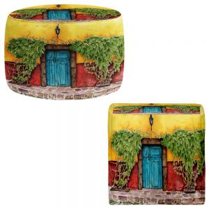 Round and Square Ottoman Foot Stools | Marley Ungaro - Blue Door
