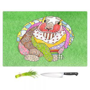 Artistic Kitchen Bar Cutting Boards | Marley Ungaro - Bunny Green