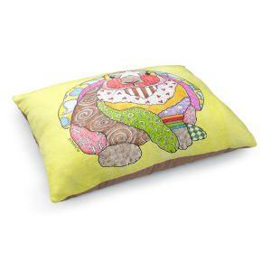Decorative Dog Pet Beds   Marley Ungaro - Bunny Pastel Yellow