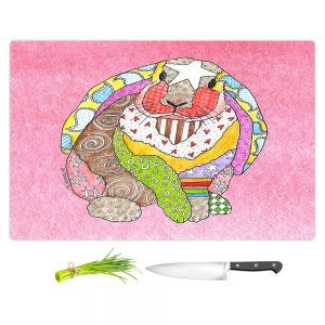 Artistic Kitchen Bar Cutting Boards | Marley Ungaro - Bunny Pink