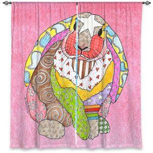 Decorative Window Treatments   Marley Ungaro - Bunny Pink