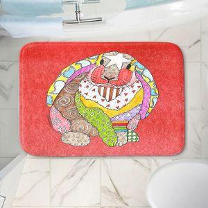 Decorative Bathroom Mats | Marley Ungaro - Bunny Watermelon