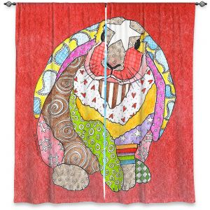 Decorative Window Treatments | Marley Ungaro - Bunny Watermelon