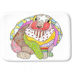Decorative Bathroom Mats   Marley Ungaro - Bunny White