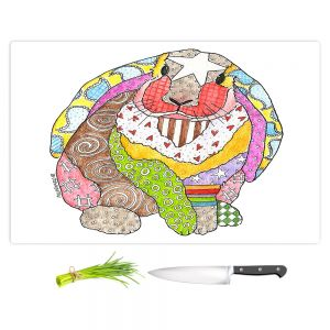 Artistic Kitchen Bar Cutting Boards | Marley Ungaro - Bunny White