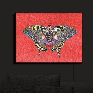 Nightlight Sconce Canvas Light | Marley Ungaro - Butterfly Watermelon