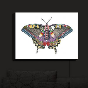 Nightlight Sconce Canvas Light | Marley Ungaro - Butterfly White