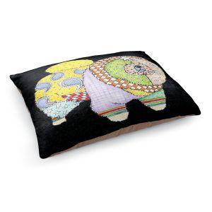 Decorative Dog Pet Beds | Marley Ungaro - Chow Black
