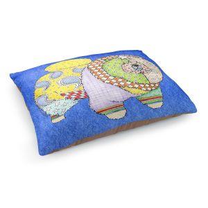 Decorative Dog Pet Beds | Marley Ungaro - Chow Blue