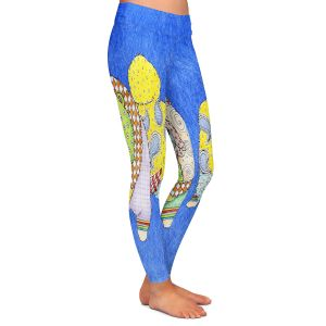 Casual Comfortable Leggings | Marley Ungaro - Chow Blue