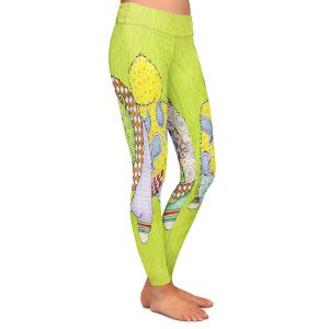 Casual Comfortable Leggings | Marley Ungaro - Chow Lime
