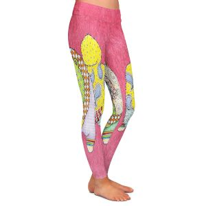 Casual Comfortable Leggings | Marley Ungaro - Chow Pink