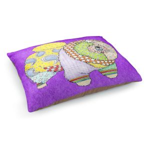 Decorative Dog Pet Beds | Marley Ungaro - Chow Purple