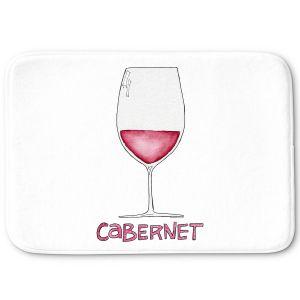Decorative Bathroom Mats   Marley Ungaro - Cocktails Cabernet Wine   Wine Glass