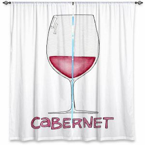 Decorative Window Treatments | Marley Ungaro - Cocktails Cabernet Wine | Wine Glass