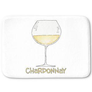 Decorative Bathroom Mats   Marley Ungaro - Cocktails Chardonnay   Wine Glass