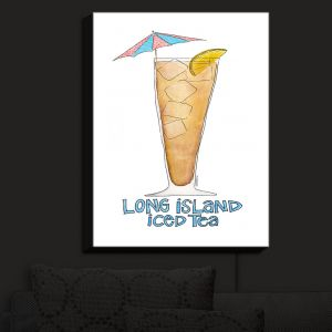 Nightlight Sconce Canvas Light | Marley Ungaro - Cocktails Long Island Ice Tea