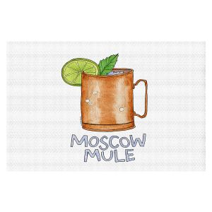 Decorative Floor Covering Mats | Marley Ungaro - Cocktails Moscow Mule | Mixed Drink