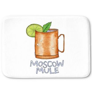 Decorative Bathroom Mats   Marley Ungaro - Cocktails Moscow Mule   Mixed Drink