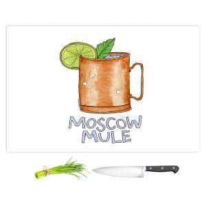 Artistic Kitchen Bar Cutting Boards | Marley Ungaro - Cocktails Moscow Mule | Mixed Drink