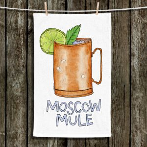 Unique Bathroom Towels | Marley Ungaro - Cocktails Moscow Mule | Mixed Drink