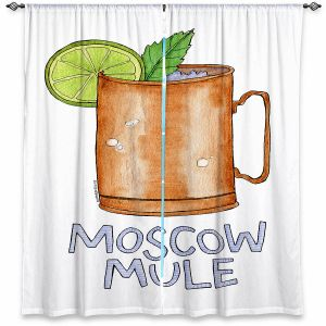 Decorative Window Treatments | Marley Ungaro - Cocktails Moscow Mule | Mixed Drink