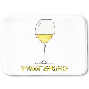 Decorative Bathroom Mats   Marley Ungaro - Cocktails Pinot Grigio   Wine Glass
