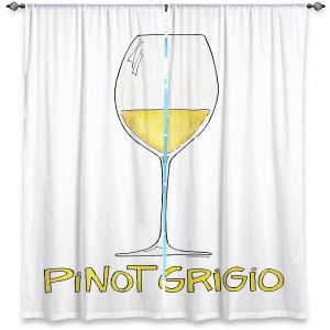 Decorative Window Treatments | Marley Ungaro - Cocktails Pinot Grigio | Wine Glass