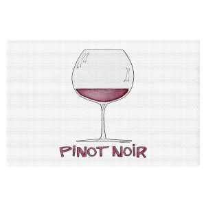 Decorative Floor Covering Mats | Marley Ungaro - Cocktails Pinot Noir | Wine Glass
