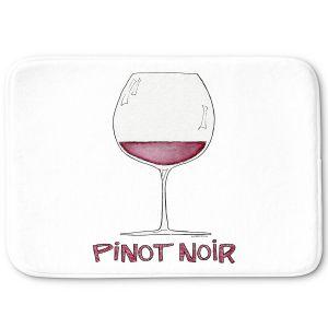 Decorative Bathroom Mats   Marley Ungaro - Cocktails Pinot Noir   Wine Glass