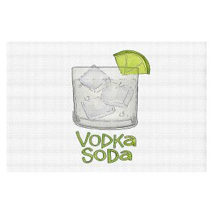 Decorative Floor Covering Mats | Marley Ungaro - Cocktails Vodka Soda | Mixed Drink