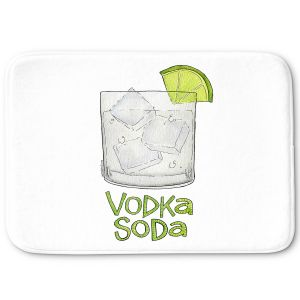 Decorative Bathroom Mats | Marley Ungaro - Cocktails Vodka Soda | Mixed Drink