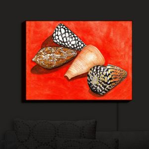 Nightlight Sconce Canvas Light | Marley Ungaro - Cone Shells