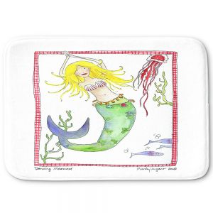 Decorative Bathroom Mats | Marley Ungaro - Dancing Mermaid