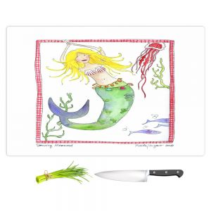 Artistic Kitchen Bar Cutting Boards | Marley Ungaro - Dancing Mermaid