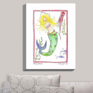 Decorative Canvas Wall Art | Marley Ungaro - Dancing Mermaid