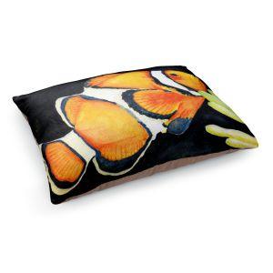 Decorative Dog Pet Beds | Marley Ungaro's Deep Sea Life- Clown Fish