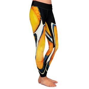 Casual Comfortable Leggings | Marley Ungaro Deep Sea Life - Clown Fish