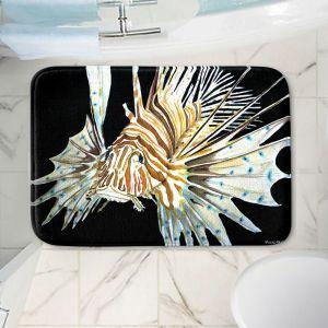Decorative Bathroom Mats   Marley Ungaro - Deep Sea Life- Lion Fish