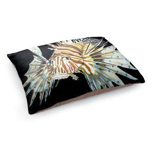 Decorative Dog Pet Beds | Marley Ungaro's Deep Sea Life- Lion Fish