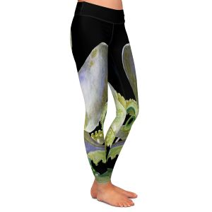 Casual Comfortable Leggings | Marley Ungaro Deep Sea Life - Octopus