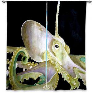 Decorative Window Treatments | Marley Ungaro Deep Sea Life - Octopus