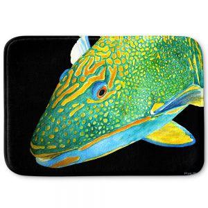 Decorative Bathroom Mats | Marley Ungaro - Deep Sea Life- Parrot Fish