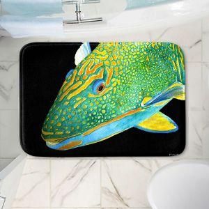 Decorative Bathroom Mats   Marley Ungaro - Deep Sea Life- Parrot Fish