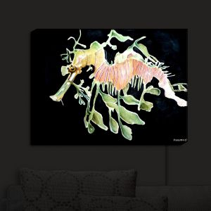 Nightlight Sconce Canvas Light | Marley Ungaro's Deep Sea Life - Sea Dragon