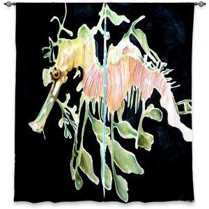 Decorative Window Treatments | Marley Ungaro Deep Sea Life - Sea Dragon