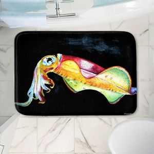 Decorative Bathroom Mats   Marley Ungaro - Deep Sea Life- Squid