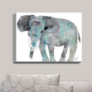 Decorative Canvas Wall Art | Marley Ungaro - Elephant