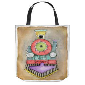 Unique Shoulder Bag Tote Bags | Marley Ungaro - Engine | Train Choo Choo